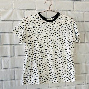 Rag & Bone Floral Print T-Shirt Size S
